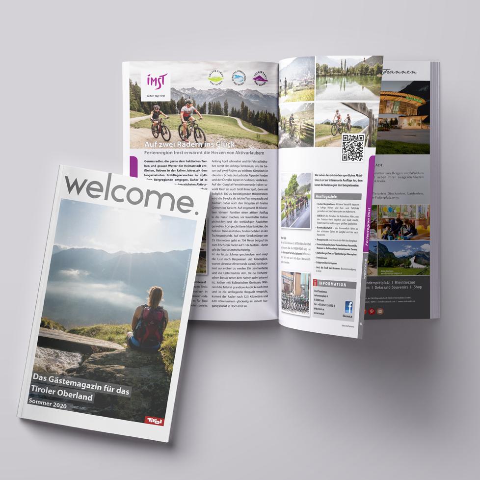 Welcome Gästemagazin Sommer 2020