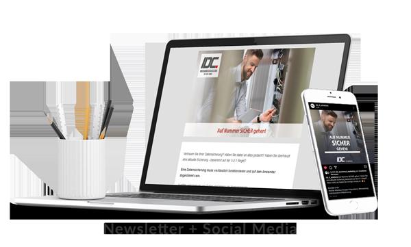 Newsletter+Social Media